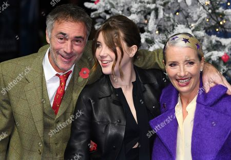 Stock Photo of Greg Wise, Gaia Wise and Emma Thompson