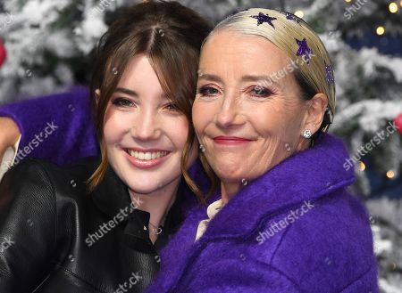Stock Picture of Gaia Wise and Emma Thompson