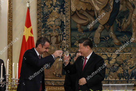 Editorial picture of China, Athens, Greece - 11 Nov 2019