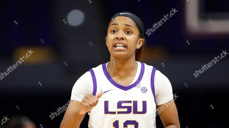 LSU guard Jaelyn Richard-Harris (13) during an NCAA women's basketball game against Florida St., in Baton Rogue, LA