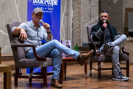 Editorial image of 'Grit & Grace' a conversation with Tim McGraw, First Baptist Church, Austin, Texas, USA - 08 Nov 2019