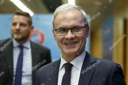 Editorial photo of 2019 UEFA Elite Club Coaches Forum, Nyon, Switzerland - 11 Nov 2019