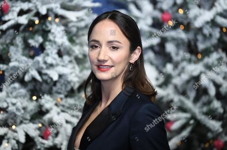 Lydia Leonard attends the UK Premiere of 'Last Christmas' at the BFI Southbank in London, Britain, 11 November 2019. The movie is released in British theatres on 15 November 2019.