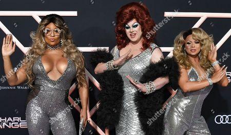 Peppermint, Nina West and Farrah Moan