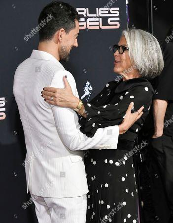 Luis Gerardo Mendez and Elizabeth Cantillon