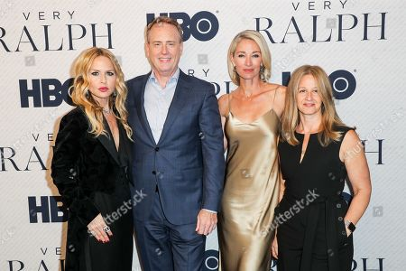 Stock Picture of Jessica Levin, Rachel Zoe, Elaine Irwin, Crystal Lourd, Bob Greenblat