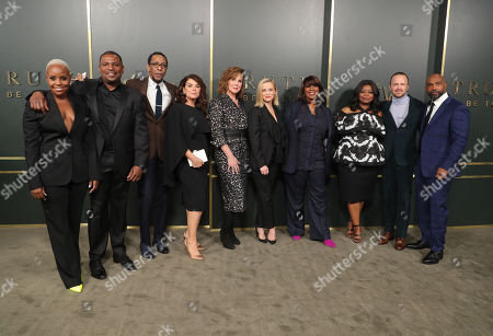 Stock Photo of Mekhi Phifer, Ron Cephas Jones, Elizabeth Perkins, Reese Witherspoon, Nichelle D. Tramble, Octavia Spencer, Aaron Paul and Michael Beach