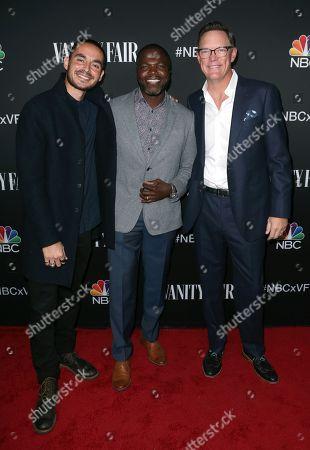 Manny Montana, Reno Wilson and Matthew Lillard