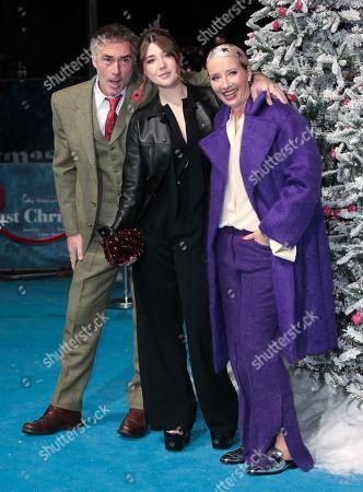Greg Wise, Gaia Wise and Emma Thompson