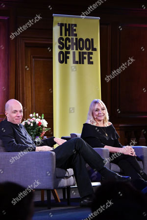 Alain de Botton and Helen Fielding