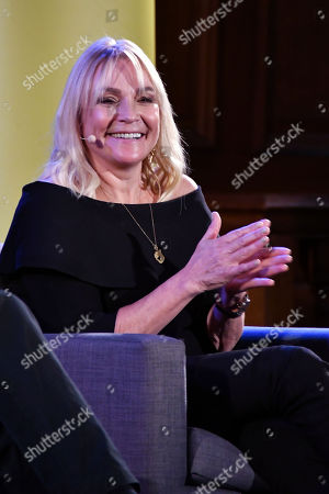 Editorial image of Helen Fielding in Conversation with Alain de Botton, London, UK - 11 Nov 2019