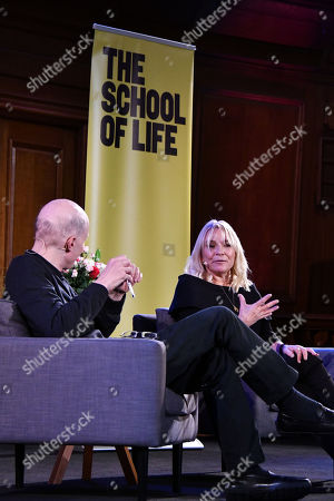 Stock Image of Alain de Botton and Helen Fielding