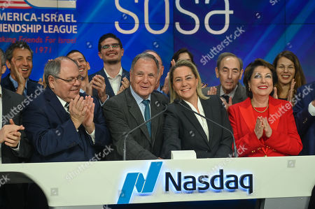 Editorial picture of AIFL bell ringing ceremony, NASDAQ, New York, USA - 11 Nov 2019