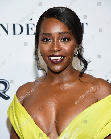 Aja Naomi King attends the Glamour Women of the Year Awards at Alice Tully Hall, in New York