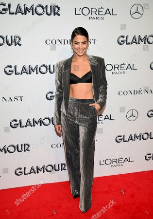 Lorenza Izzo attends the Glamour Women of the Year Awards at Alice Tully Hall, in New York