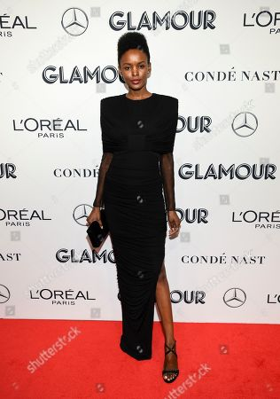 Flaviana Matata attends the Glamour Women of the Year Awards at Alice Tully Hall, in New York