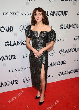 Olivia Cooke attends the Glamour Women of the Year Awards at Alice Tully Hall, in New York