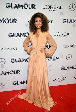 Elaine Welteroth attends the Glamour Women of the Year Awards at Alice Tully Hall, in New York