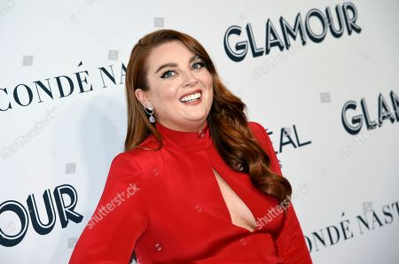 Glamour editor-in-chief Samantha Barry attends the Glamour Women of the Year Awards at Alice Tully Hall, in New York