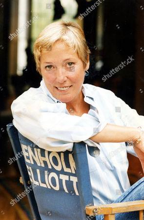 Stock Picture of Susan Elliott Widow Of Actor Denholm Elliott.