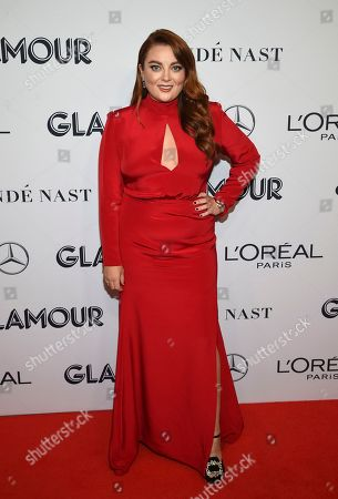 Samantha Barry attends the Glamour Women of the Year Awards at Alice Tully Hall, in New York
