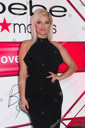 Editorial photo of Bebe Rexha Appearance at Macy's, New York, USA - 11 Nov 2019