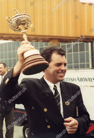 Golfer Bernard Gallagher.