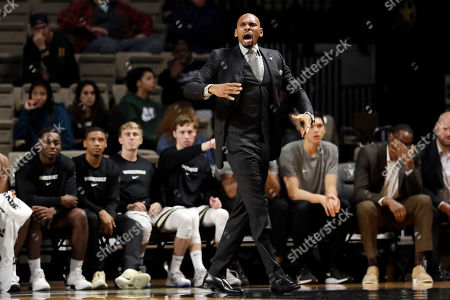 Editorial picture of Texas A M Corpus Christi Vanderbilt Basketball, Nashville, USA - 11 Nov 2019