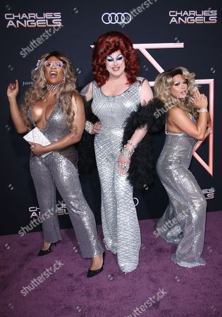 Stock Image of Peppermint, Nina West and Farrah Moan