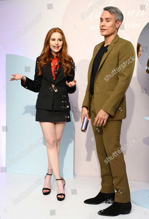 Madelaine Petsch and Marc Mena