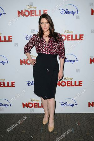 """Stock Picture of Kim Director attends a special screening of """"Noelle"""", hosted by Disney+ with The Cinema Society, at the SVA Theatre, in New York"""