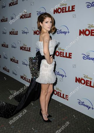 "Anna Kendrick attends a special screening of ""Noelle"", hosted by Disney+ with The Cinema Society, at the SVA Theatre, in New York"