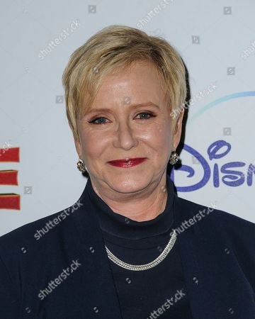 "Stock Picture of Eve Plumb attends a special screening of ""Noelle"", hosted by Disney+ with The Cinema Society, at the SVA Theatre, in New York"