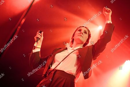 Editorial picture of Cate Le Bon in concert at The Crossing, Birmingham, UK - 07 Nov 2019