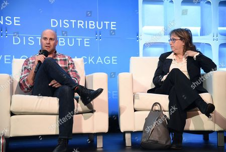Stock Picture of Christopher Lemole, Co-Founder / Producer, Armory Films and Heidi Levitt, Casting Director, Heidi Levitt Casting