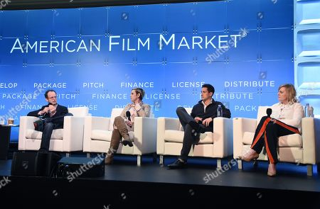 Paul Hertzberg, President & CEO, CineTel Films, Inc., Mark Gooder, Co-President, Cornerstone Films, Miranda Bailey, CEO, Cold Iron Pictures, Nat McCormick, EVP, Worldwide Distribution, The Exchange and Sherryl Clark, President, Production, The H Collective