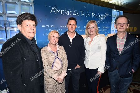 Paul Hertzberg, President & CEO, CineTel Films, Inc., Miranda Bailey, CEO, Cold Iron Pictures, Nat McCormick, EVP, Worldwide Distribution, The Exchange, Sherryl Clark, President, Production, The H Collective and Mark Gooder, Co-President, Cornerstone Films