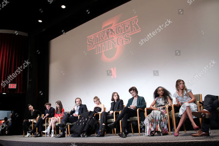 Editorial picture of Stranger Things - Sag Nom Comm, New York, USA - 11 Nov 2019