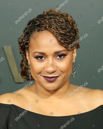 "Tracie Thoms attends the LA Premiere of ""Truth Be Told"" at the Samuel Goldwyn Theater, in Beverly Hills, Calif"