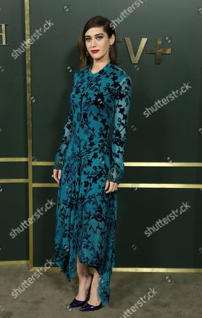 "Lizzy Caplan attends the LA Premiere of ""Truth Be Told"" at the Samuel Goldwyn Theater, in Beverly Hills, Calif"