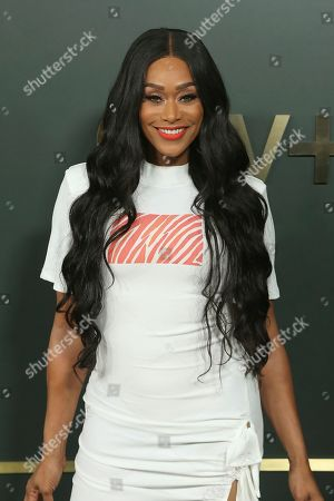 """Tami Roman attends the LA Premiere of """"Truth Be Told"""" at the Samuel Goldwyn Theater, in Beverly Hills, Calif"""