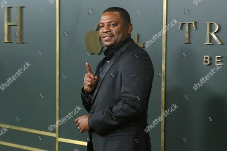 """Mekhi Phifer attends the LA Premiere of """"Truth Be Told"""" at the Samuel Goldwyn Theater, in Beverly Hills, Calif"""