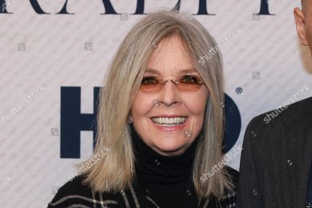 """Diane Keaton attends the HBO premiere of """"Very Ralph,"""" at the Paley Center for Media, in Beverly Hills, Calif"""