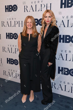 """Stock Image of Jessica Levin, Rachel Zoe. Jessica Levin and Rachel Zoe attend the HBO premiere of """"Very Ralph,"""" at the Paley Center for Media, in Beverly Hills, Calif"""