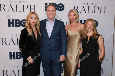 "Rachel Zoe, Robert Greenblatt, Elaine Irwin, Jessica Levin. Rachel Zoe, Robert Greenblatt, Elaine Irwin and Jessica Levin attend the HBO premiere of ""Very Ralph,"" at the Paley Center for Media, in Beverly Hills, Calif"
