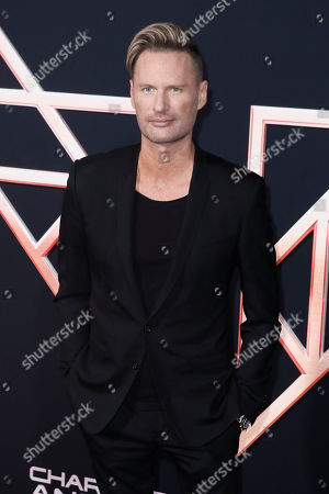 Brian Tyler poses on the red carpet during the premiere of 'Charlie's Angels' at the Westwood Regency Theater in Los Angeles, California, USA, 11 November 2019. The movie is to be released in US theaters on 15 November.