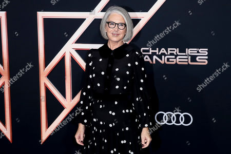 Elizabeth Cantillon poses on the red carpet during the premiere of 'Charlie's Angels' at the Westwood Regency Theater in Los Angeles, California, USA, 11 November 2019. The movie is to be released in US theaters on 15 November.