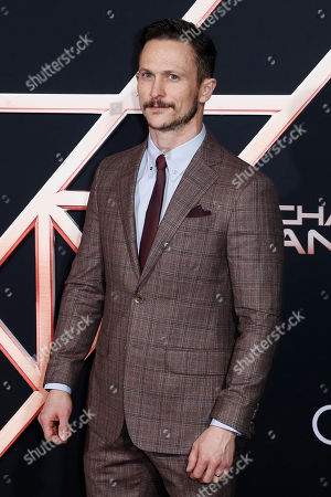 Jonathan Tucker poses on the red carpet during the premiere of 'Charlie's Angels' at the Westwood Regency Theater in Los Angeles, California, USA, 11 November 2019. The movie is to be released in US theaters on 15 November.