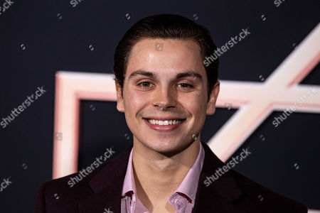 Jake T. Austin poses on the red carpet during the premiere of 'Charlie's Angels' at the Westwood Regency Theater in Los Angeles, California, USA, 11 November 2019. The movie is to be released in US theaters on 15 November.