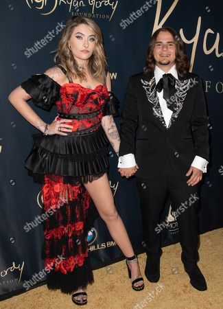 Paris Jackson and Michael Joseph Jackson Jr attend the Ryan Gordy Foundation 60 Years of Motown Celebration at the Waldorf Astoria in Beverly Hills